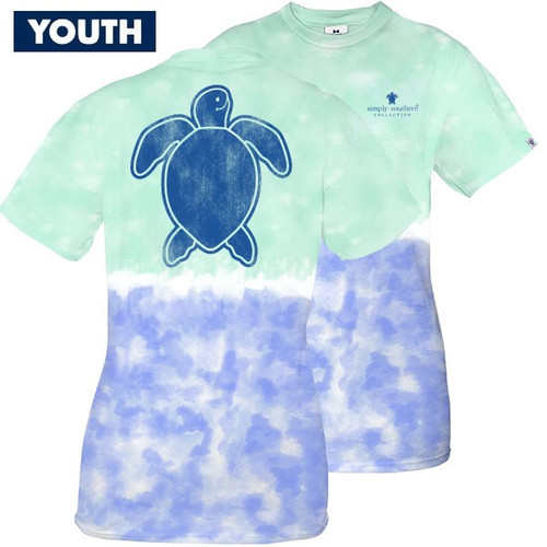 Large Save the Turtles Logo Island YOUTH Short Sleeve Tee by Simply Southern