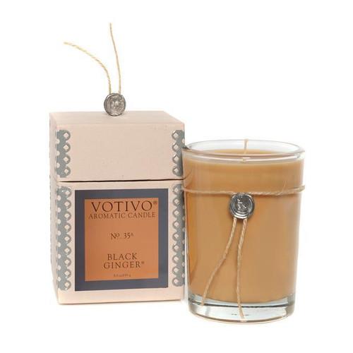 Black Ginger Aromatic Jar Votivo Candle