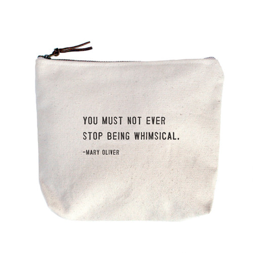 You Must Not Ever Stop Canvas Bag by Sugarboo Designs