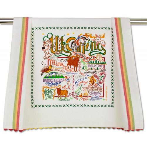 Wyoming Dish Towel by Catstudio