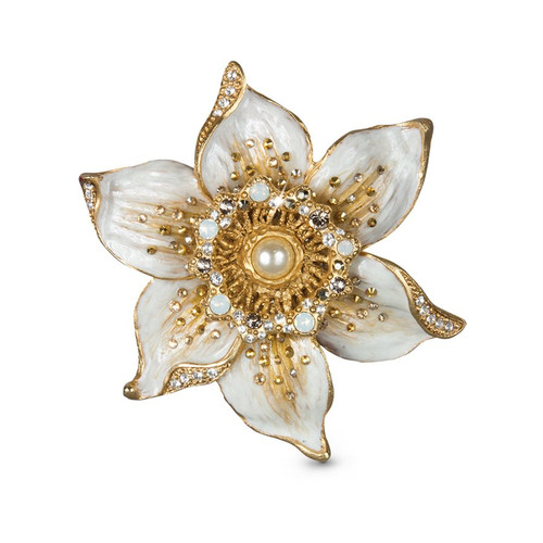 Jay Strongwater Sonia Daffodil Golden Pin