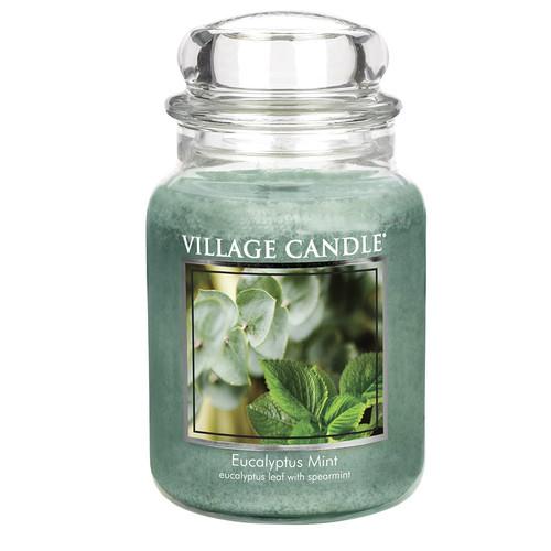 Eucalyptus Mint 26 oz. Premium Round by Village Candles