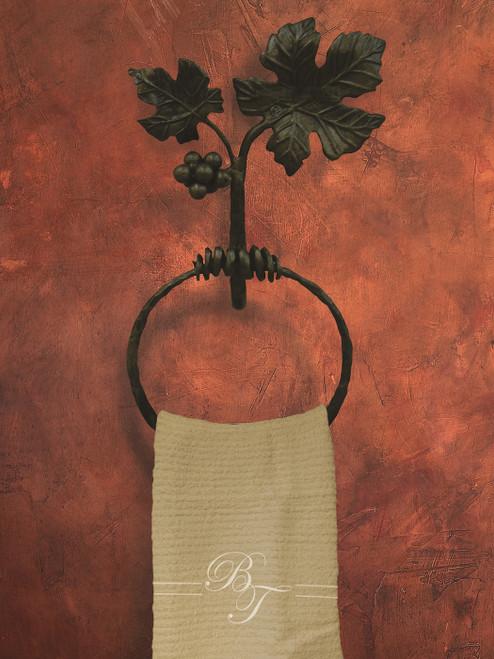 Vineyard Towel Ring by Bella Toscana