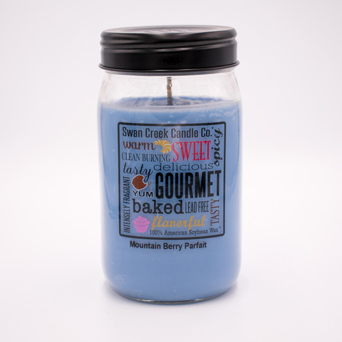 Mountain Berry Parfait 24 oz. Swan Creek Kitchen Pantry Jar Candle