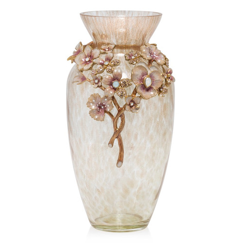 Jay Strongwater Polly Bouquet Vase - Special Order