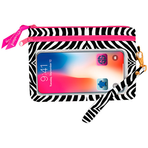 Zebra Phone Wristlet by Simply Southern
