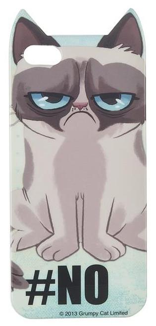 Grumpy Cat iPhone 5 Cover - No