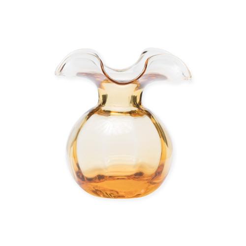 Vietri Italian Tableware Gift with Purchase: Vietri Hibiscus Glass Amber Bud Vase