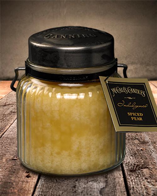 Spiced Pear 18 oz. McCall's Indulgence Jar Candle