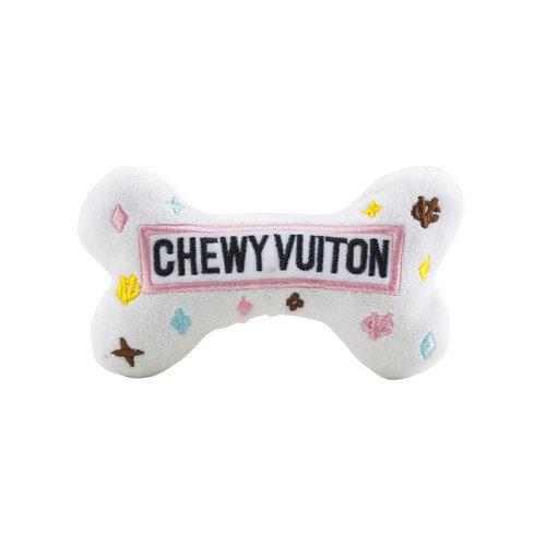 Small Chewy Vuiton Bone by Haute Diggity Dog - Special Order