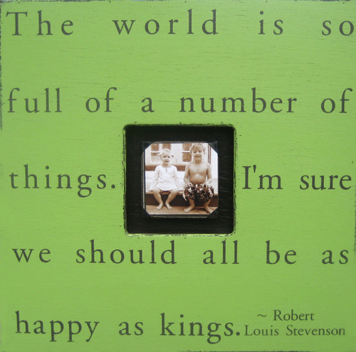 Apple Green The World Is So Full Photobox by Sugarboo Designs - Special Order