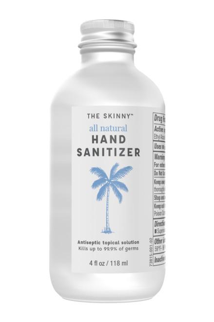 Food-Grade 80% Ethanol 4 oz. Hand Sanitizer by Skinny & Co.