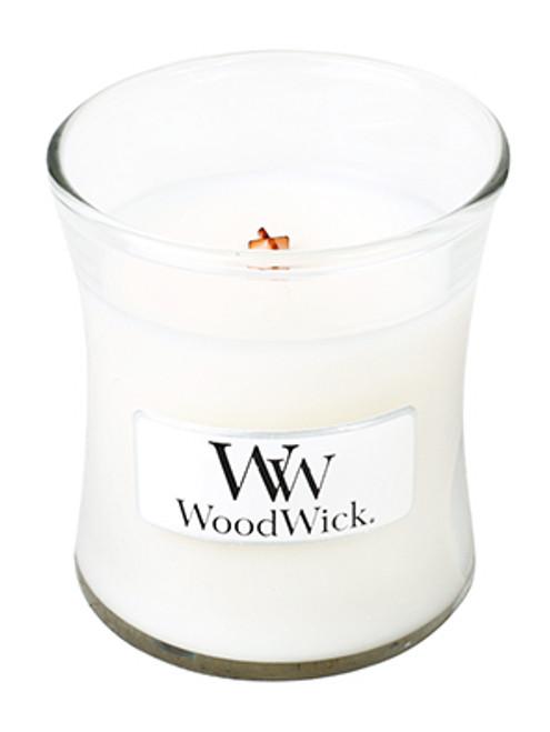 White Tea & Jasmine WoodWick Candle 3.4 oz.