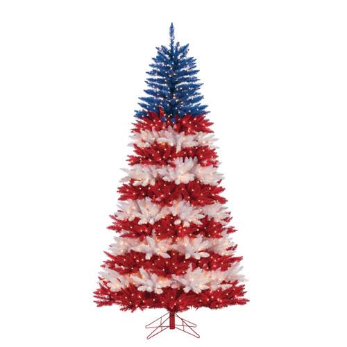 Patriotic 7.5 ft. American Tree by Sterling Tree