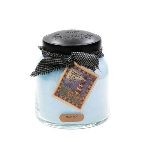 High Tide 34 oz. Papa Jar Keepers of the Light Candle by A Cheerful Giver
