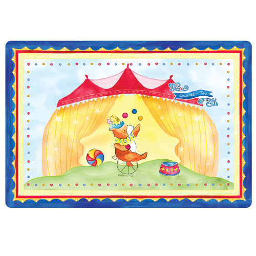 """Enjoy Yourself Anti-Slip 17"""" x 11.5"""" Placemat by Baby Cie"""