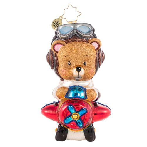 Soaring To Beary-Good Heights! Ornament by Christopher Radko