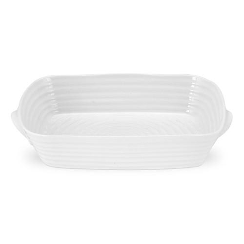 Sophie Conran White Medium Handled Rectangular Roasting Dish by Portmeirion - Special Order