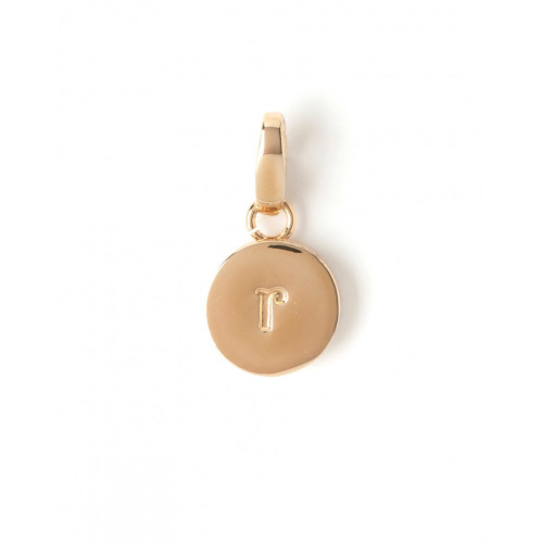 """Letter """"R"""" Round Crystal Charm - Style Spartina 449"""