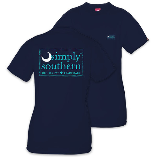 XXLarge Moon Midnight Unisex Short Sleeve Tee by Simply Southern