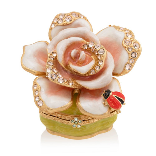 Jay Strongwater Diana Rose Box - Special Order