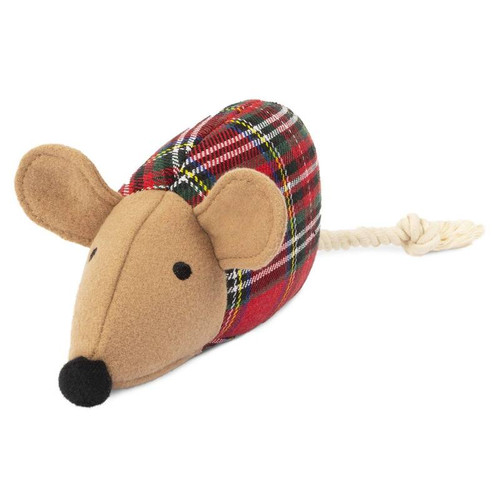 Plaid Mouse Plush toy by Harry Barker