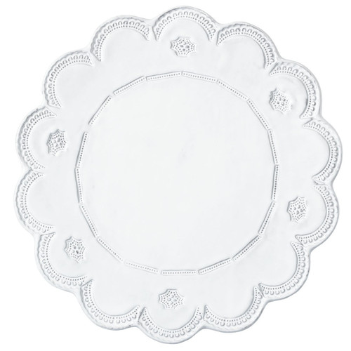Vietri Incanto Lace Service Plate/Charger - Special Order