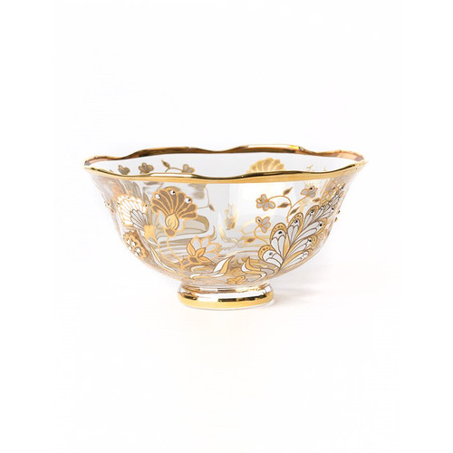 Jay Strongwater Jessa Vine Bowl - Floral - Special Order