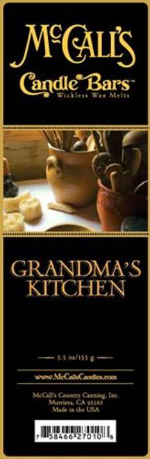 Grandma's Kitchen McCall's Candle Bar