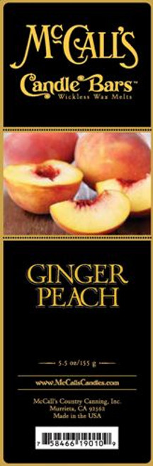 Ginger Peach McCall's Candle Bar