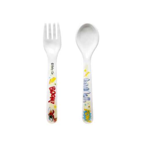 You Can Do It Fork and Spoon by Baby Cie