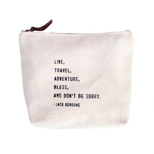 Live,  Travel,  Adventure Canvas Bag by Sugarboo Designs