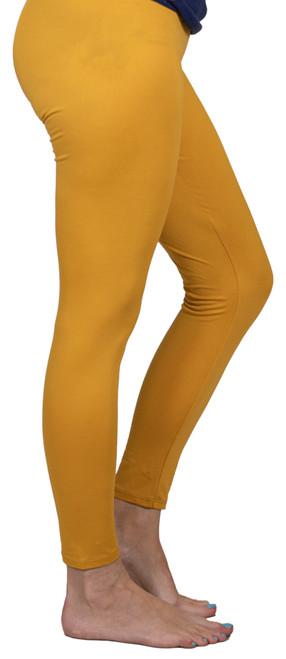 XL-XXL Mustard Leggings By Simply Southern