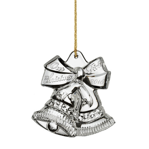 2016 Marquis Holiday Our First Christmas Ornament by Waterford