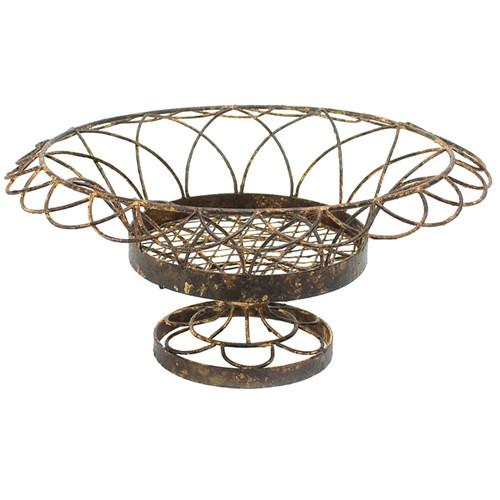 Small Round Petal Basket by Aidan Gray