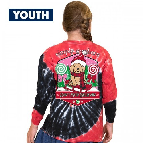 Medium DonŒ't Stop Believin' YOUTH by Simply Southern