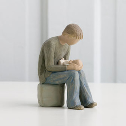 New Dad Relationships Figurine by Willow Tree