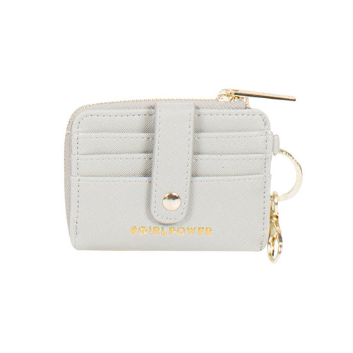 Girl Power Leather Key ID Pouch by Simply Southern