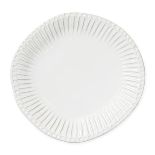 Vietri Incanto Stone White Stripe Dinner Plate