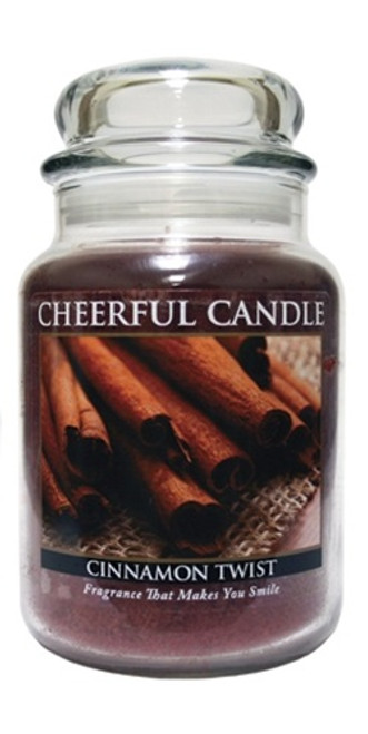 Cinnamon Twist 24 oz. Cheerful Candle by A Cheerful Giver