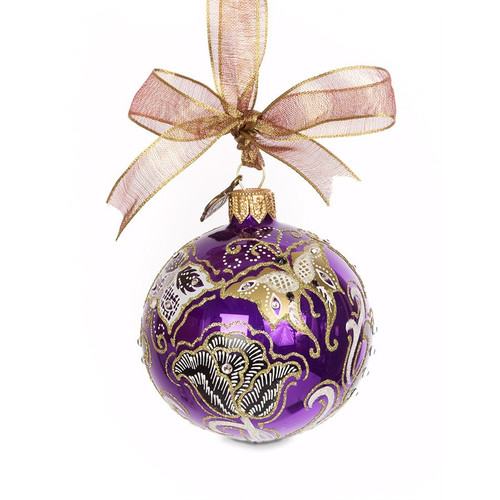 """Jay Strongwater Butterfly Nouveau 3"""" Ornament - Special Order"""