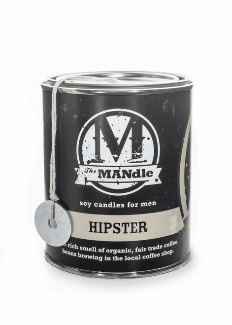 Hipster 15 oz. Paint Can MANdle by Eco Candle Co.