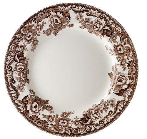 Delamere Set of 4 Soup Plates by Spode - Special Order