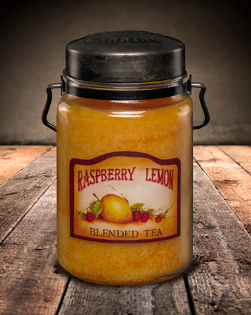 Raspberry Lemon 26 oz. McCall's Classic Jar Candle