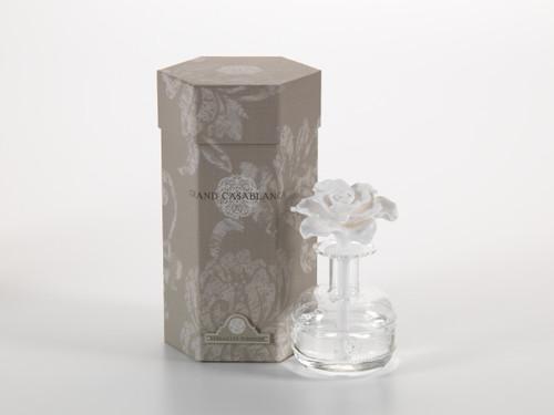 Versaille Tuberose Grand Casablanca 6.8 oz. Porcelain Diffuser by Zodax