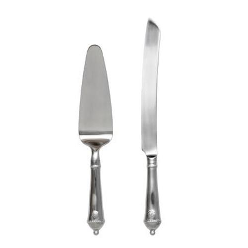 Berry & Thread Cake Knife & Server Set by Juliska - Special Order