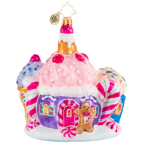Surrounded By Sweets Ornament by Christopher Radko