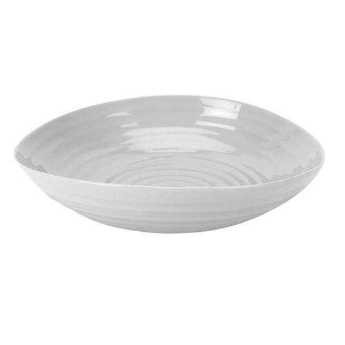 Sophie Conran Grey Set of 4 Pasta Bowls by Portmeirion - Special Order