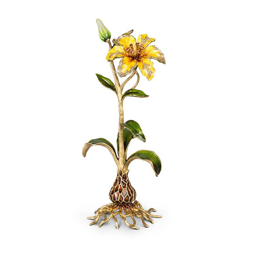 Jay Strongwater Delphina Lily Objet - Flora - Special Order