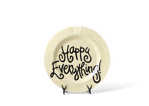 Gold Small Dot Happy Everything Big Platter by Happy Everything!